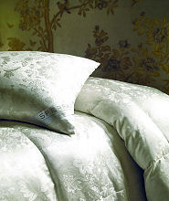 Silk & Eider Down Down Duvets, Pillows & Featherbeds by St Geneve, Salzberg, Ogallala & Yves Delorme