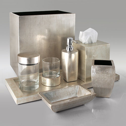 Luxury bath accessories labrazel luxury bathroom for Bathroom ornaments accessories