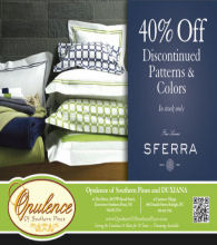 Opulence of Southern Luxury Bed & Bath Sale