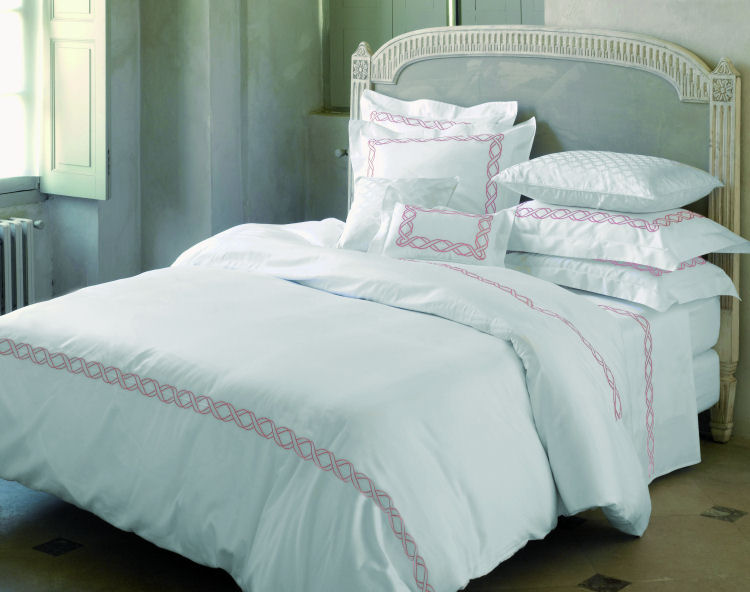 Opulence of southern pines luxury bedding luxurious for Yves delorme