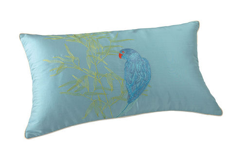 Yves Delorme Postcard Pillow Cover
