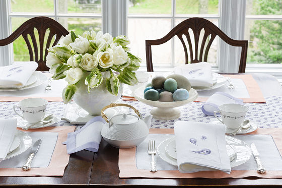 Sferra Luxury Table Linens and Many More